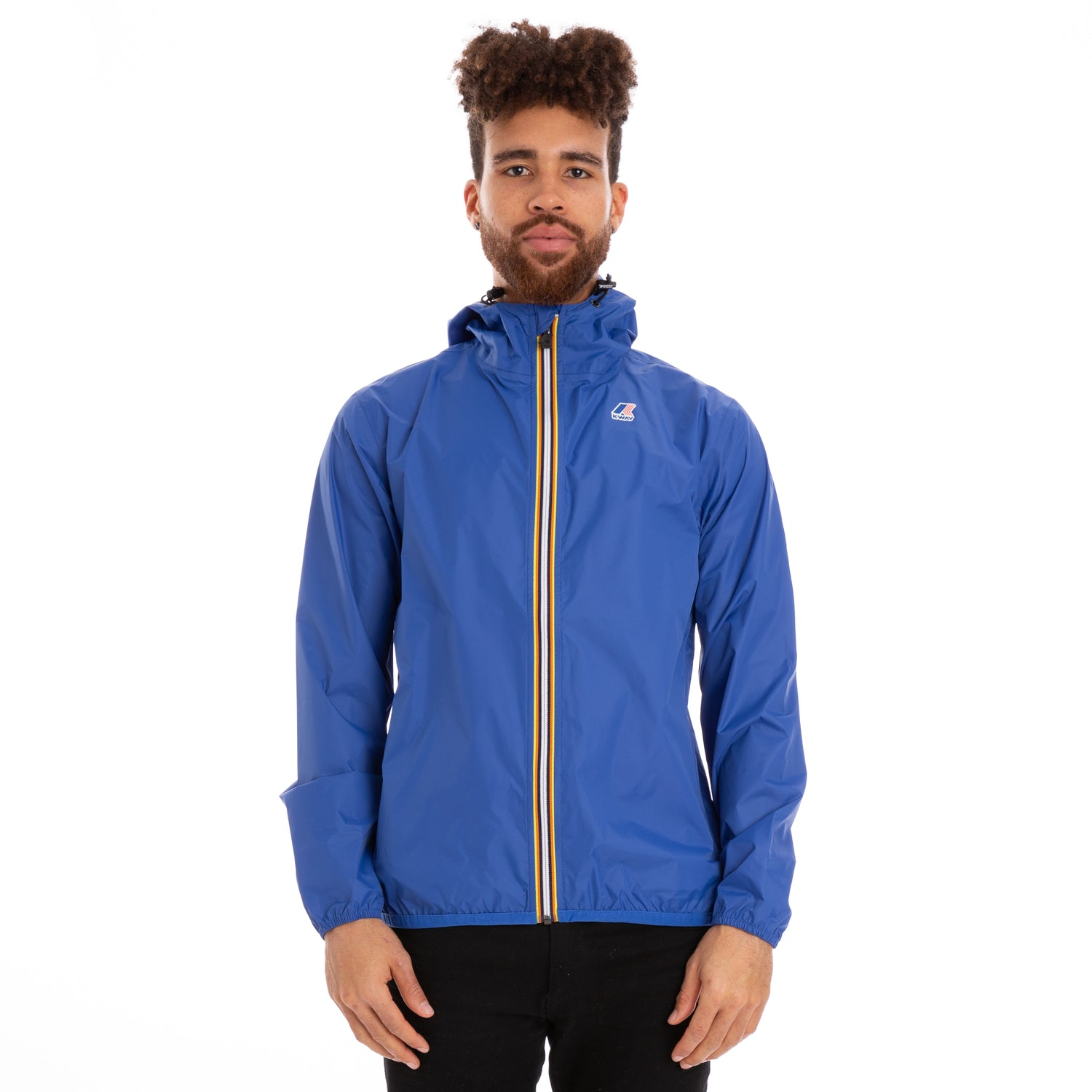 K-Way Men's Le Vrai 3.0 Claude Jacket Blue Royal