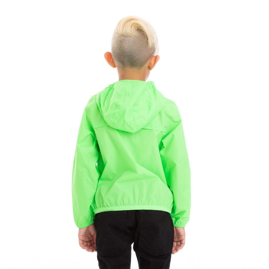 K-Way Kids Le Vrai 3.0 Claude Jacket Green Fluo
