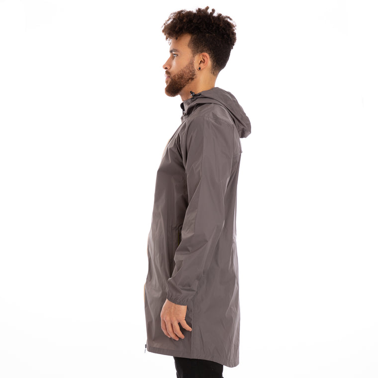 K-Way Men's Le Vrai 3.0 Eiffel Jacket Grey Smoke
