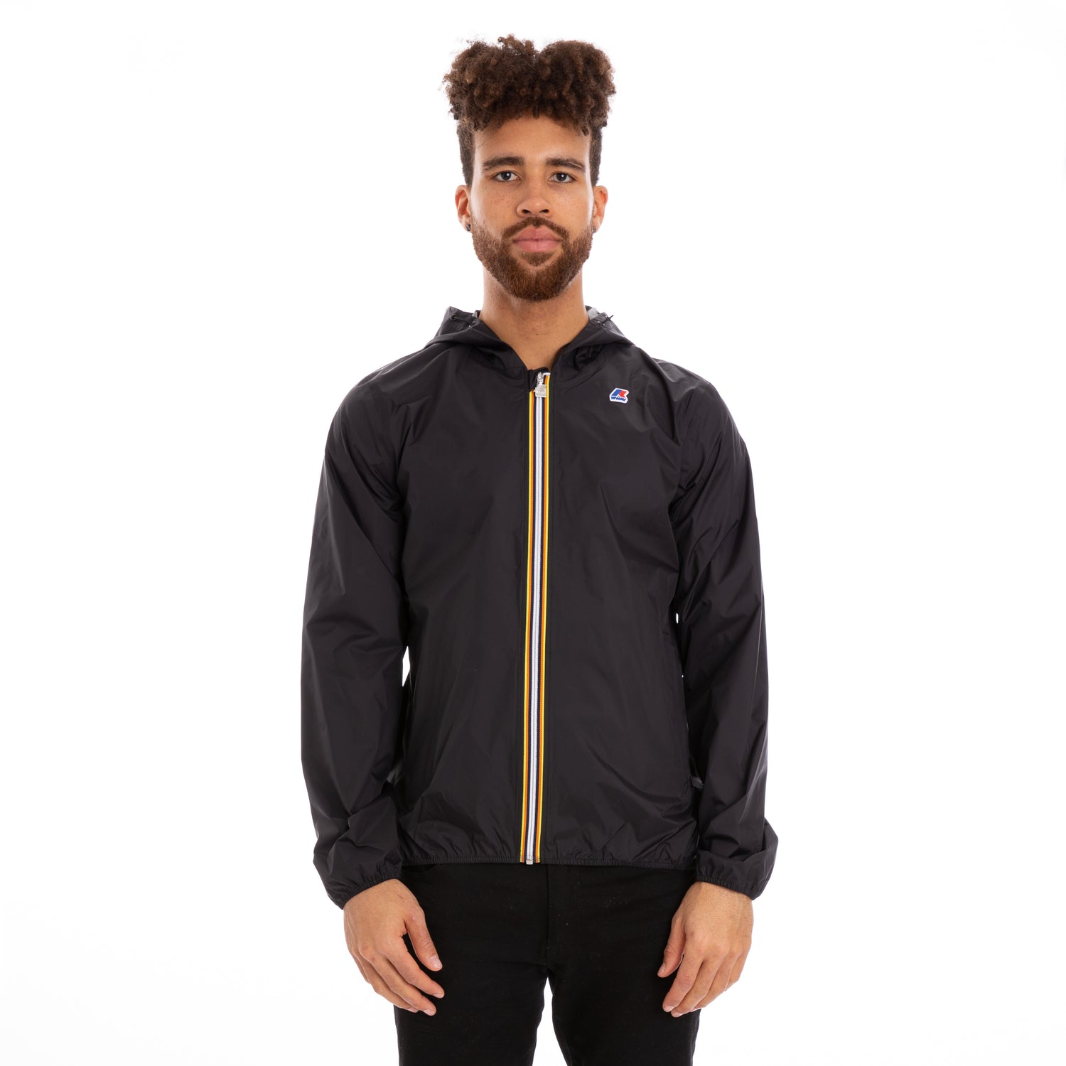 K-Way Men's Jack Plus Dot Jacket Black