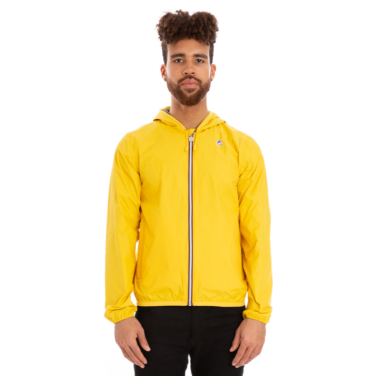 Men's Jacques Reversible Plus Double Full Zip Jacket Yellow Grey