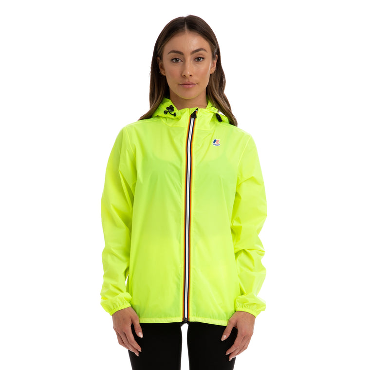 Women's Le Vrai 3.0 Claude Full Zip Jacket Yellow Fluo