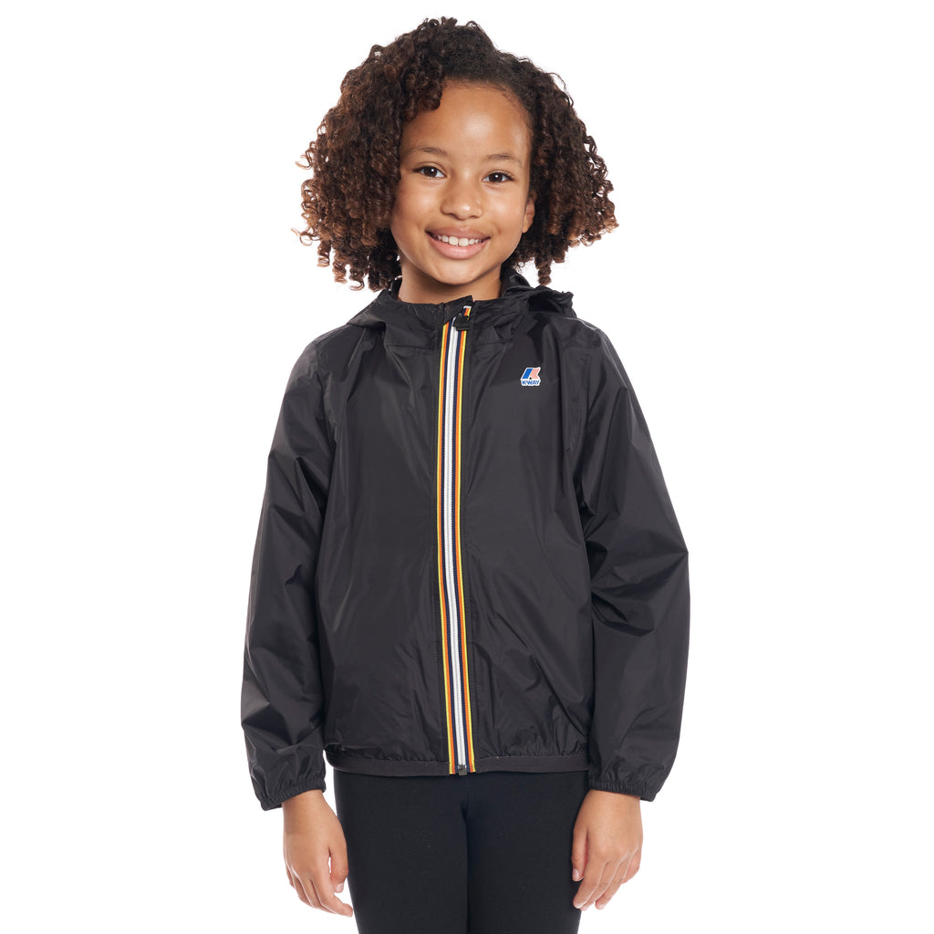 Kids Le Vrai 3.0 Claude Jacket Black - Front