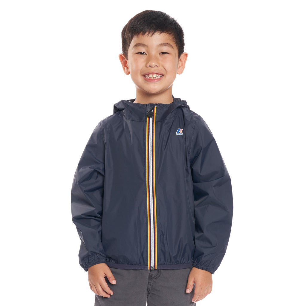 Kids Le Vrai 3.0 Claude Jacket Blue Depth - Front