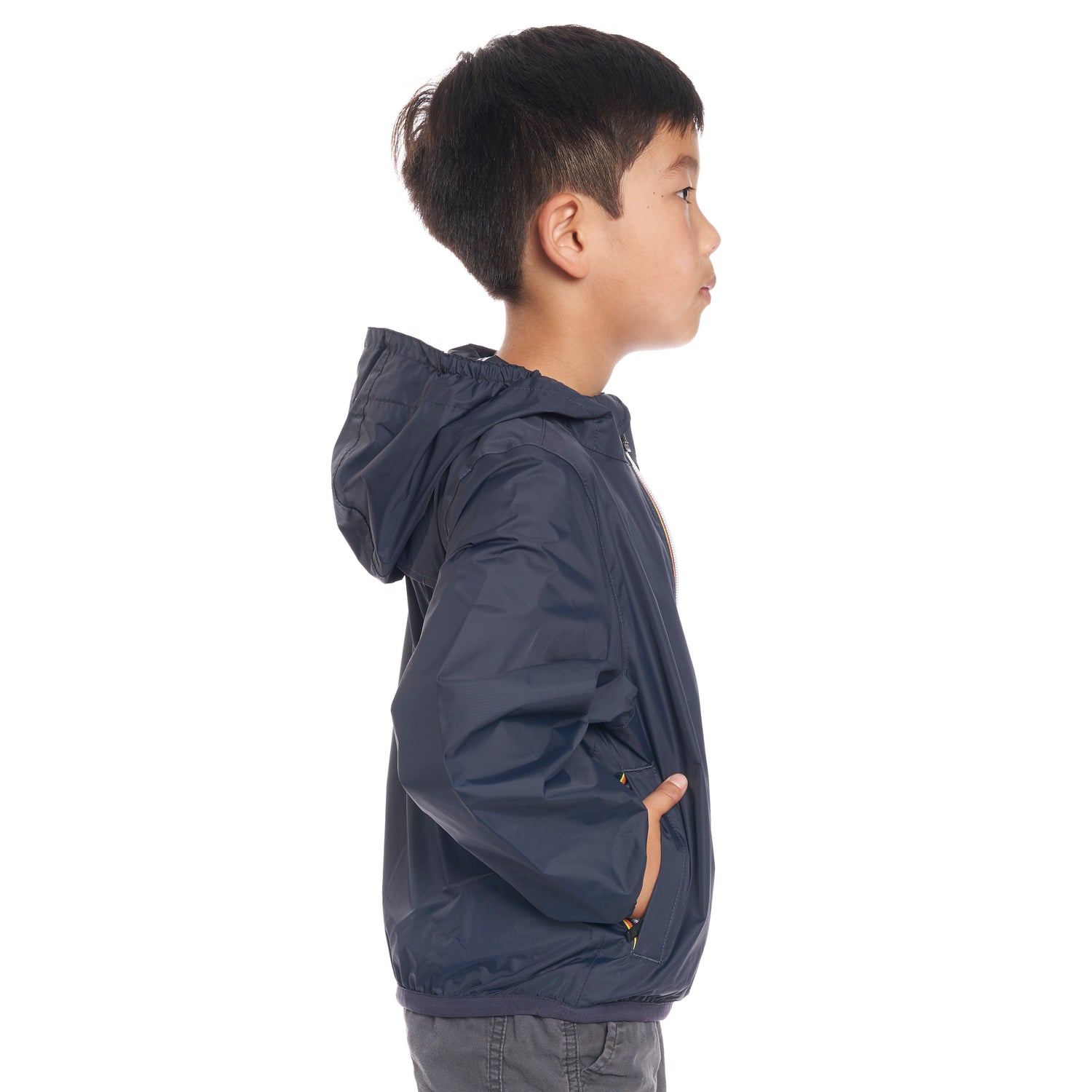 Kids Le Vrai 3.0 Claude Jacket Blue Depth - Side