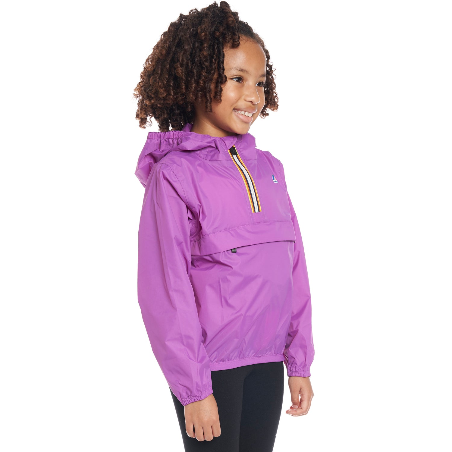 Kids Le Vrai 3.0 Leon Jacket Violet - Side
