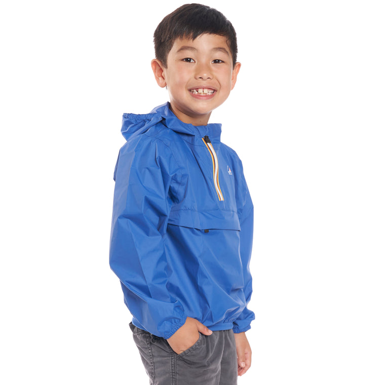 Kids Le Vrai 3.0 Leon Jacket Blue Royal - Back
