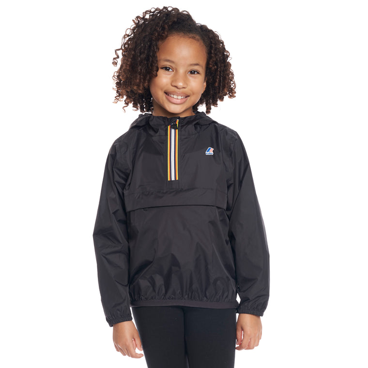 Kids Le Vrai 3.0 Leon Half Zip Jacket Black