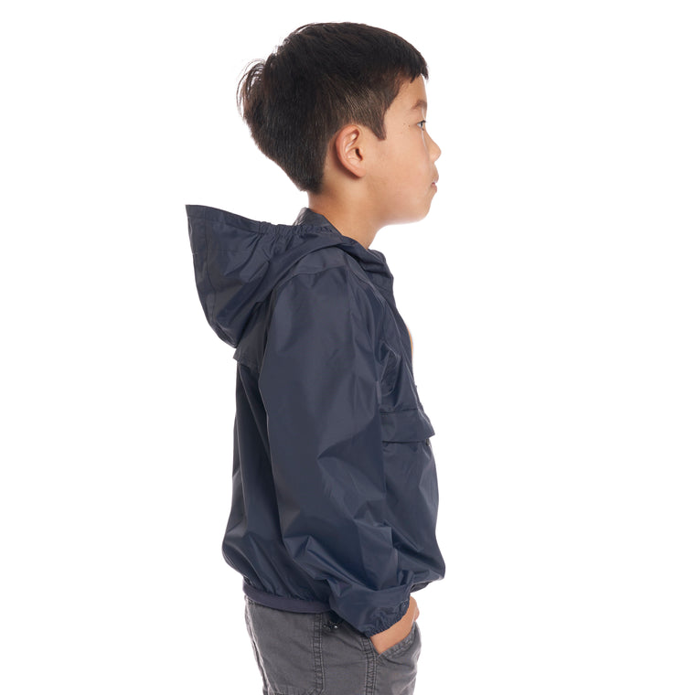 Kids Le Vrai 3.0 Leon Jacket Blue Depth - Back