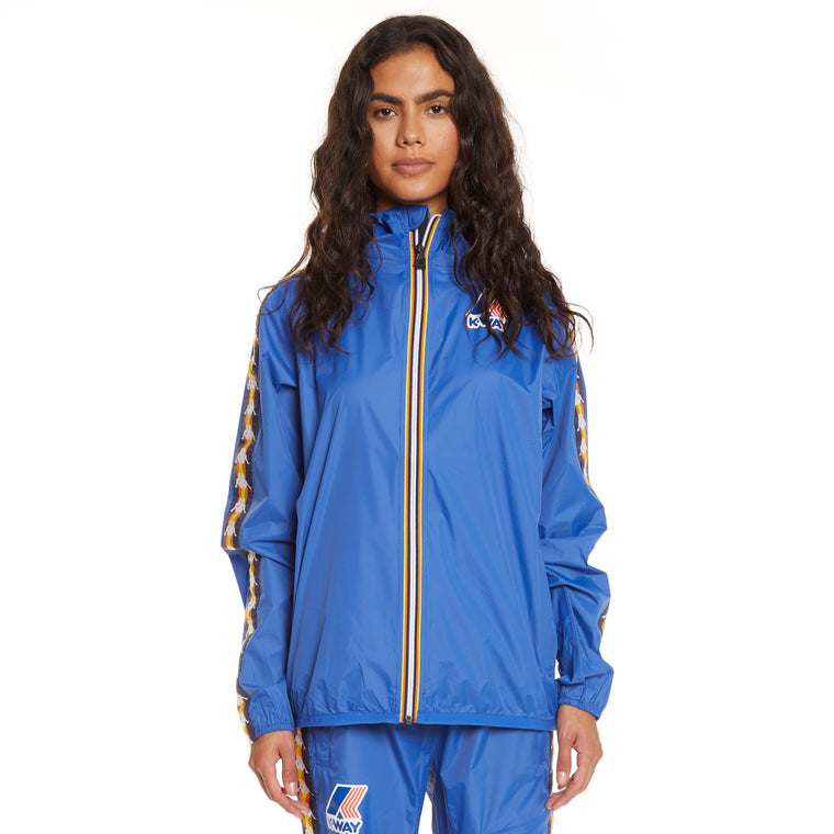 Women's K-Way X Kappa Le Vrai 3.0 Claude Banda Blue Royal