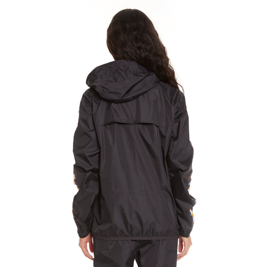 Women's K-Way X Kappa Le Vrai 3.0 Claude Banda Black - Back