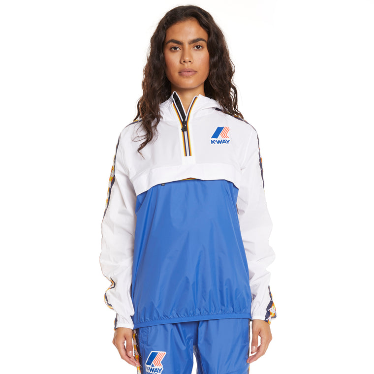 Women's K-Way X Kappa Le Vrai 3.0 Leon Banda Blue Royal White