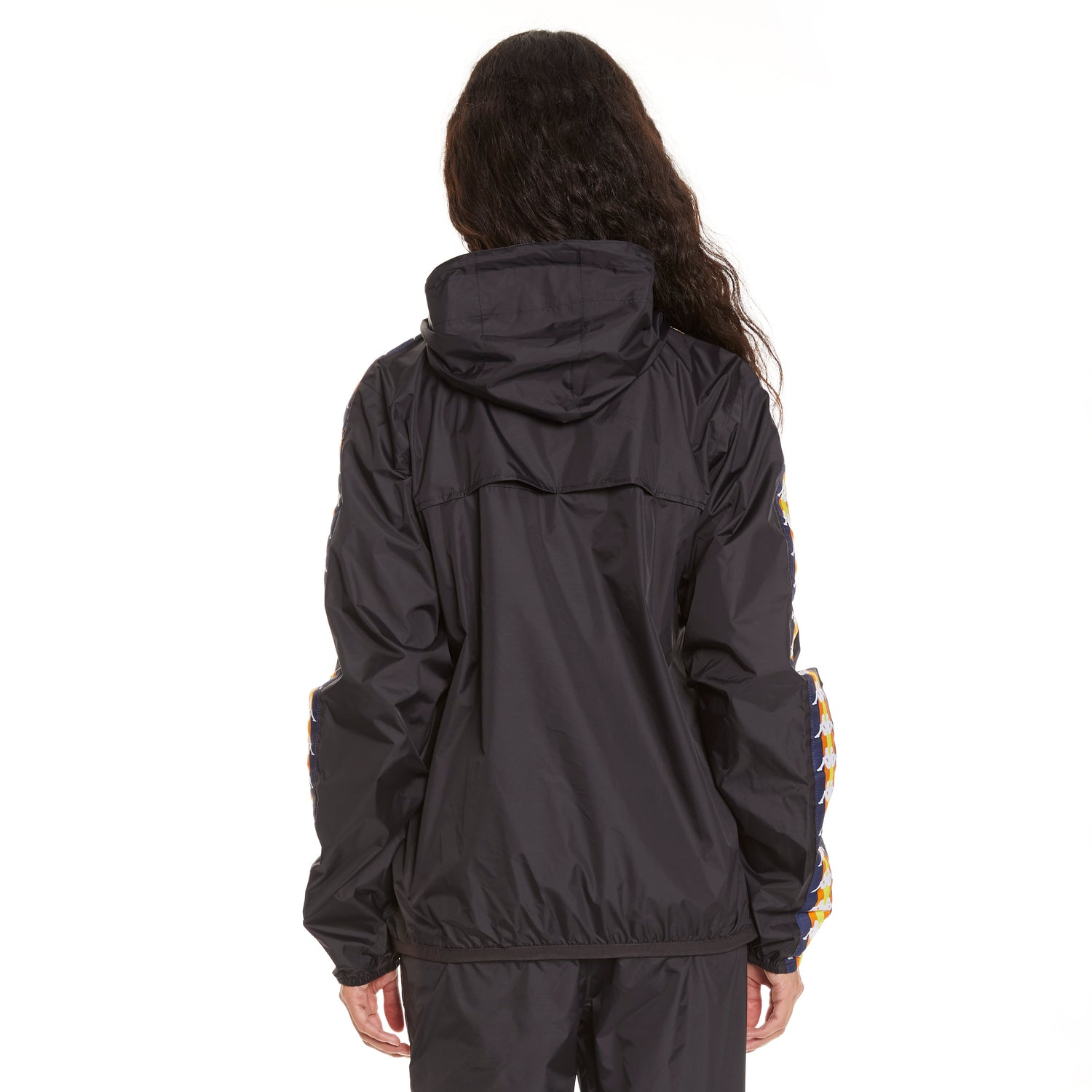 Women's K-Way X Kappa Le Vrai 3.0 Leon Banda Black - Back