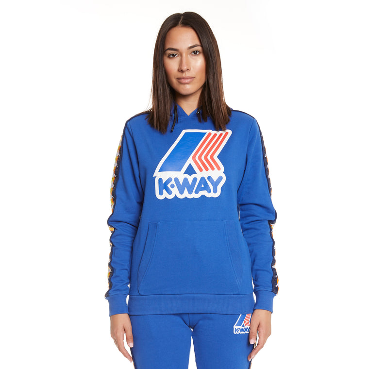 Women's K-Way X Kappa Le Vrai 3.0 Bob Banda Blue Royal