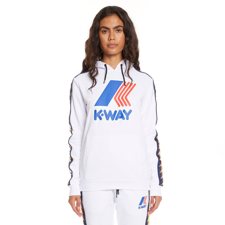 Women's K-Way X Kappa Le Vrai 3.0 Bob Banda White