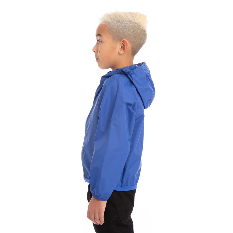 K-Way Kids Le Vrai 3.0 Claude Jacket Blue Royal