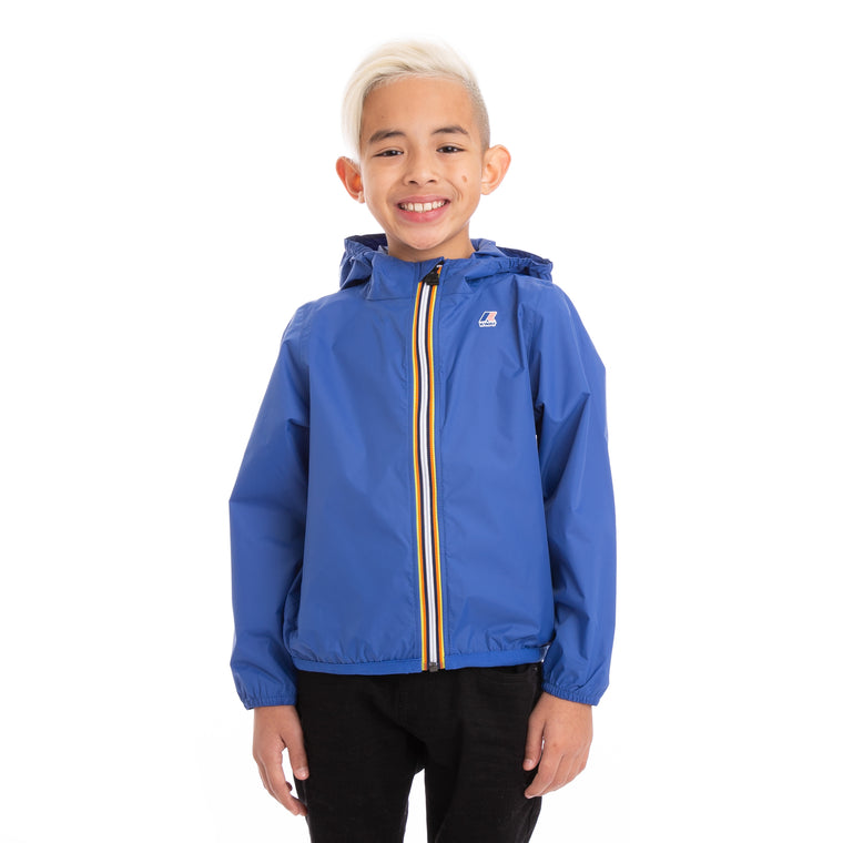 Kids Le Vrai 3.0 Claude Full Zip Jacket Blue Royal