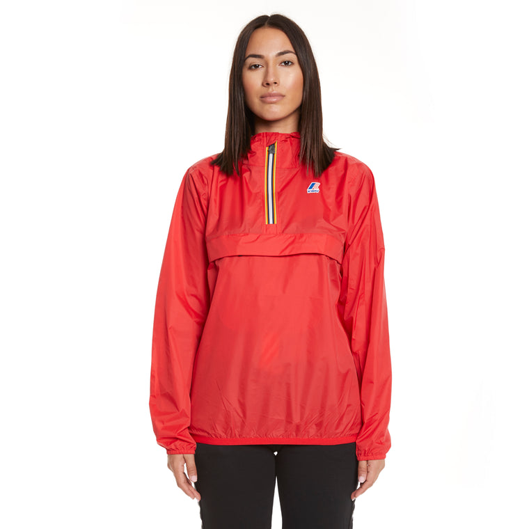 Women's Le Vrai 3.0 Leon Half Zip Jacket Red