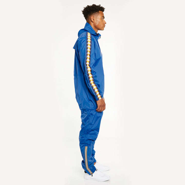Men's K-Way X Kappa Le Vrai 3.0 Pierrik Banda Blue Royal