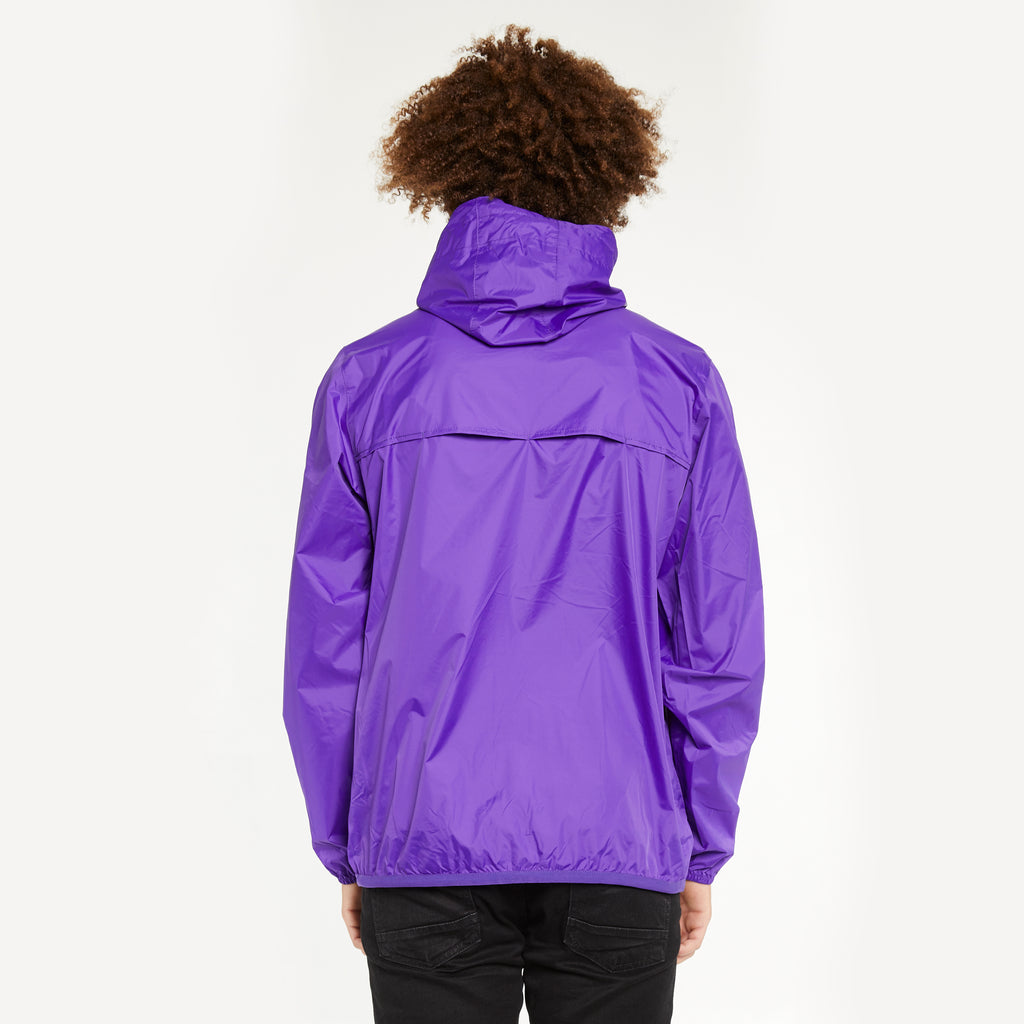 K-Way Men's Le Vrai 3.0 Claude Full Zip Jacket Violet Heliotrope