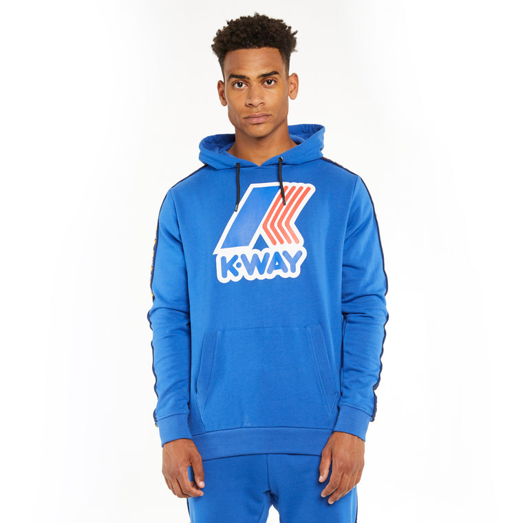 Men's K-Way X Kappa Le Vrai 3.0 Bob Banda Blue Royal