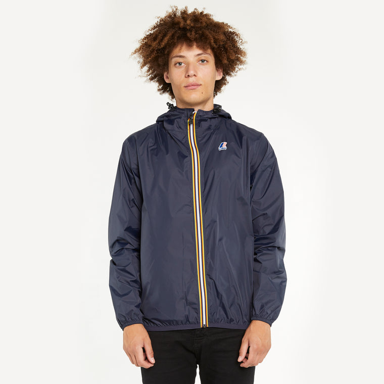 Men's Le Vrai 3.0 Claude Full Zip Blue Depth