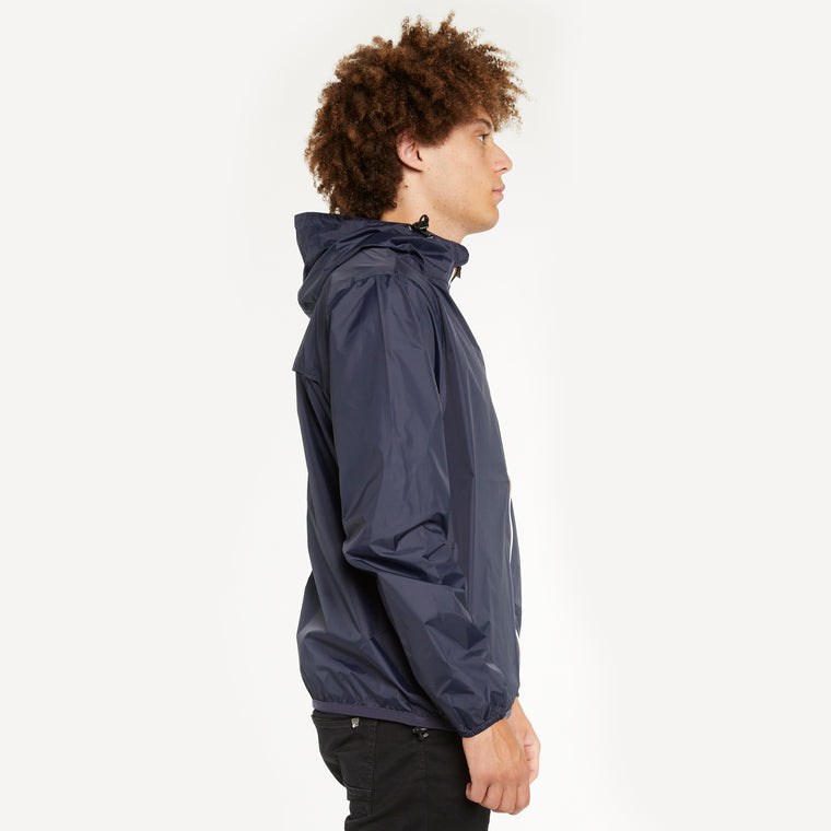 K-Way Men's's Le Vrai 3.0 Claude Full Zip Blue Depth