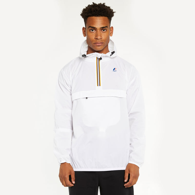 Men's Le Vrai 3.0 Leon Half Zip Jacket White
