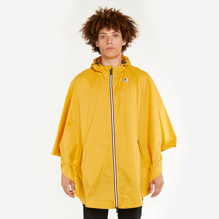 Men's Le Vrai 3.0 Morgan Full Zip Poncho Yellow Mustard