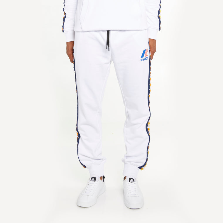 Men's K-Way X Kappa Le Vrai 3.0 Ivan Banda White