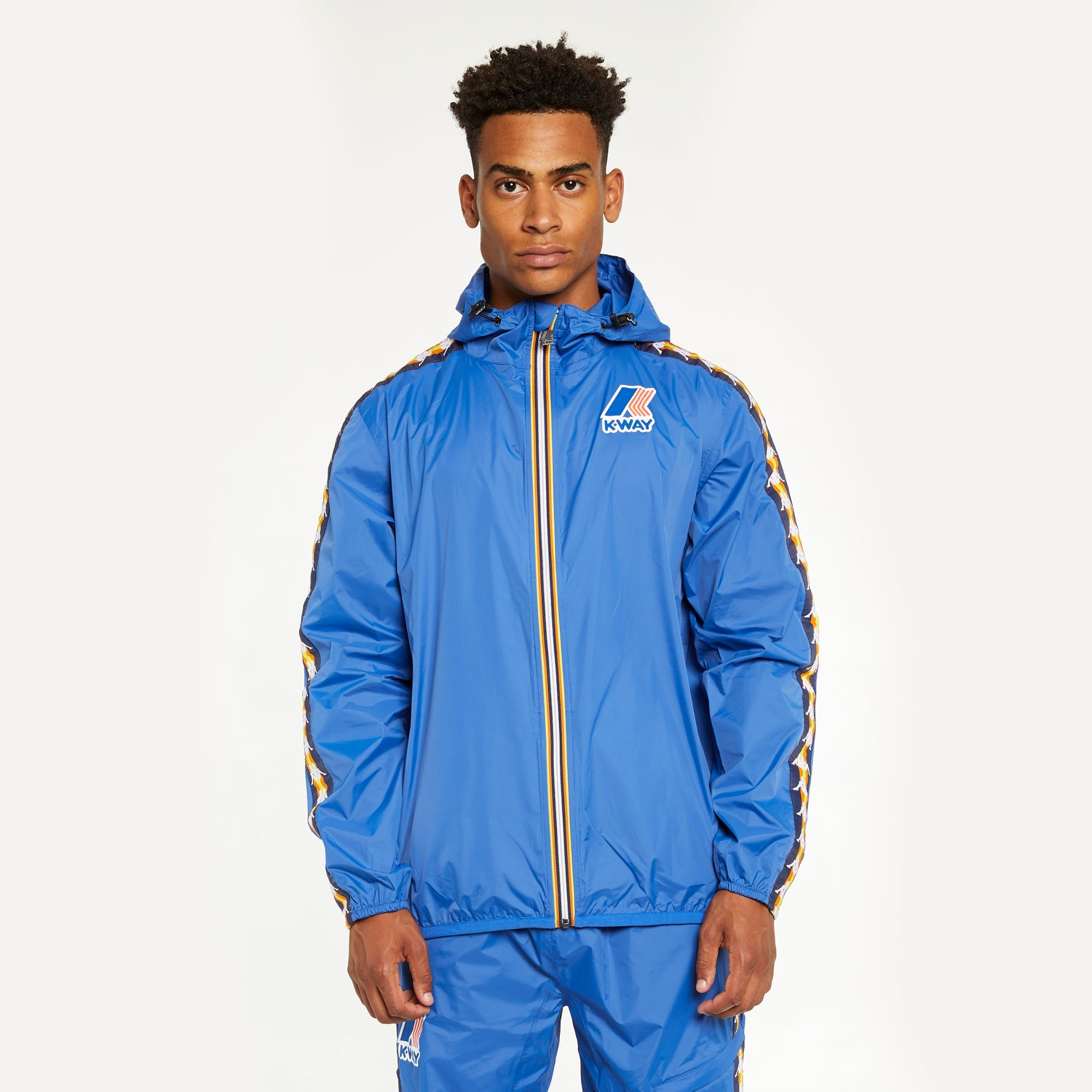 Men's K-Way X Kappa Le Vrai 3.0 Claude Banda Blue Royal
