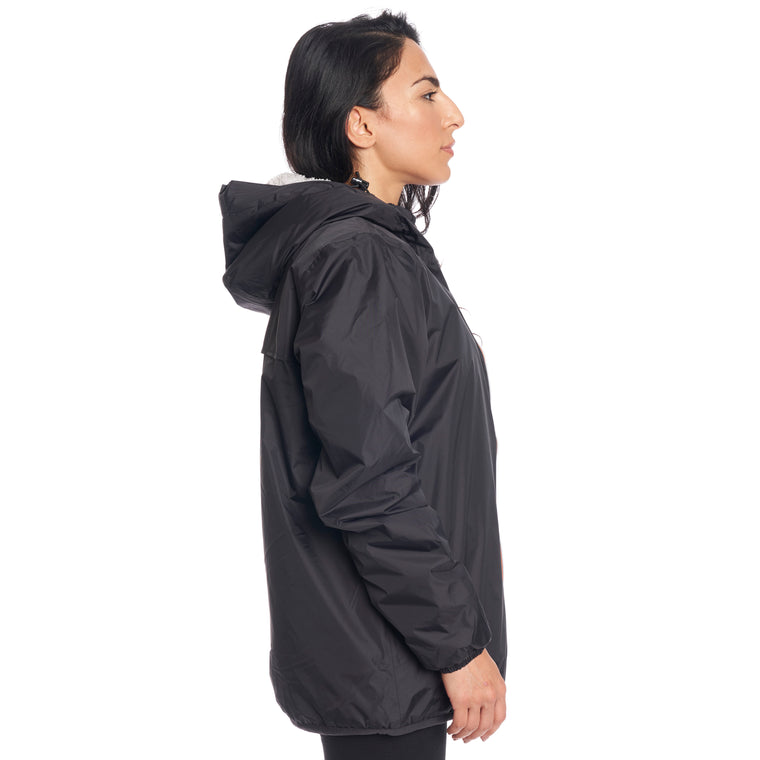 Women's Le Vrai 3.0 Claude Orsetto Full Zip Padded Jacket Black