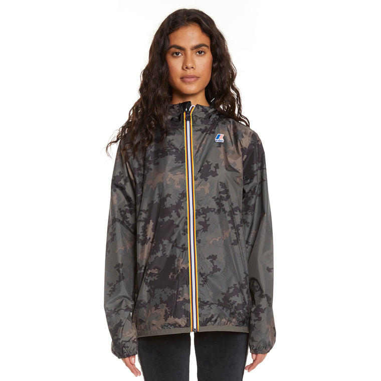 Women's Le Vrai 3.0 Claude Full Zip Jacket Graphic Dark Camo