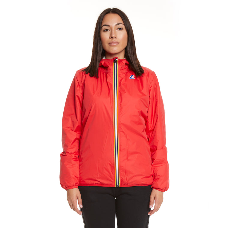 Women's Le Vrai 3.0 Claude Orsetto Full Zip Padded Jacket Red