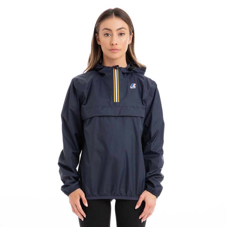 Women's Le Vrai 3.0 Leon Half Zip Jacket Blue Depth