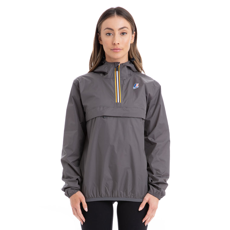 Women's Le Vrai 3.0 Leon Half Zip Jacket Grey Smoke