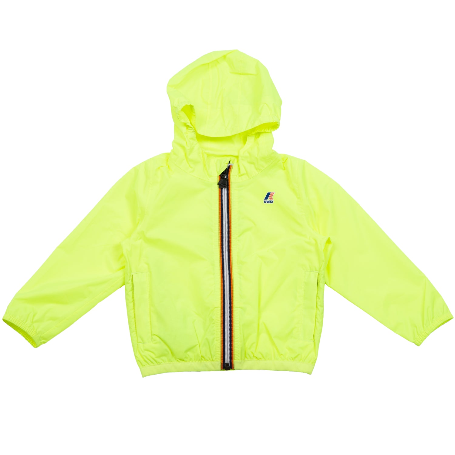 K-Way Infant Le Vrai 3.0 Claudine Jacket Yellow Fluo