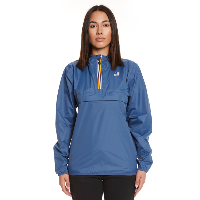 Women's Le Vrai 3.0 Leon Half Zip Jacket Blue Deep