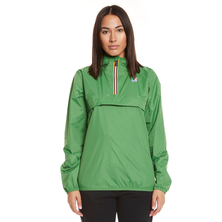 Women's Le Vrai 3.0 Leon Half Zip Jacket Green Md