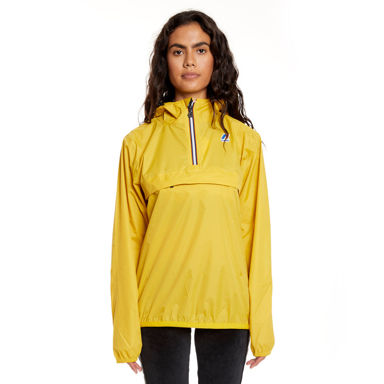 Women's Le Vrai 3.0 Leon Half Zip Jacket Yellow Mustard