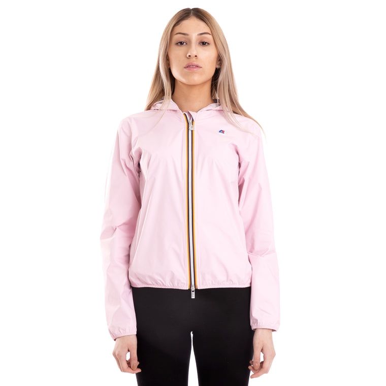 Women's Lil Plus Dot Full Zip Jacket Pink Soft Lilla