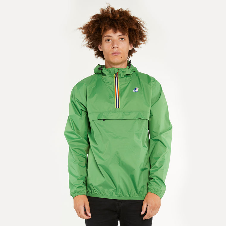 Men's Le Vrai 3.0 Leon Half Zip Jacket Green Md