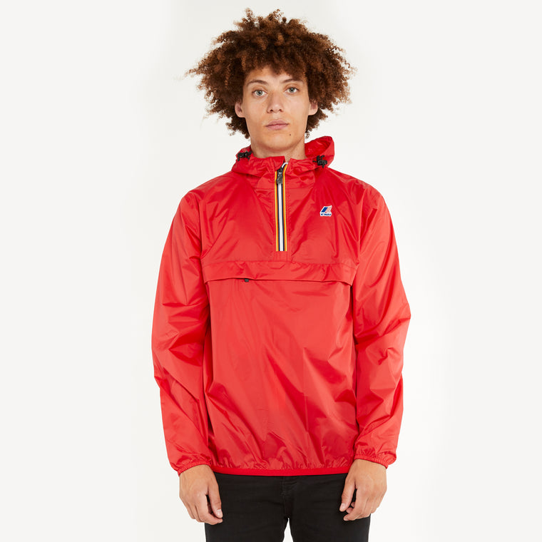 Men's Le Vrai 3.0 Leon Half Zip Jacket Red