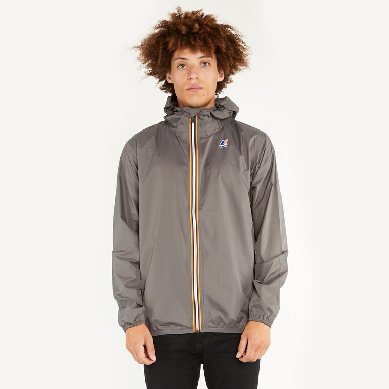 Men's Le Vrai 3.0 Claude Full Zip Jacket Grey Smoke