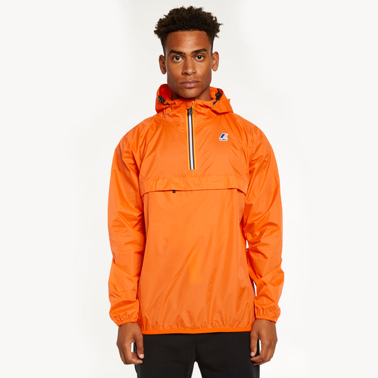 Men's Le Vrai 3.0 Leon Half Zip Jacket Orange Flame