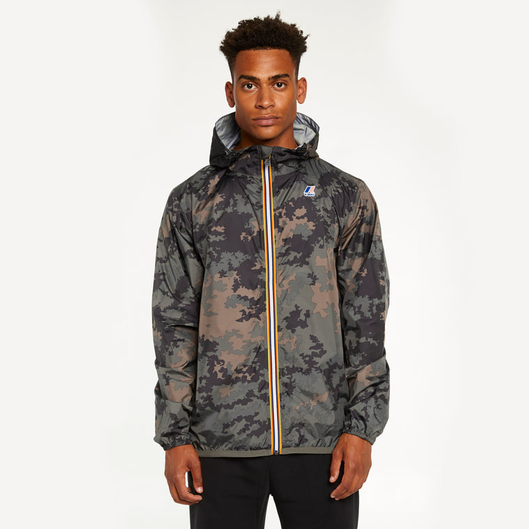 Men's Le Vrai 3.0 Claude Full Zip Jacket Graphic Dark Camo