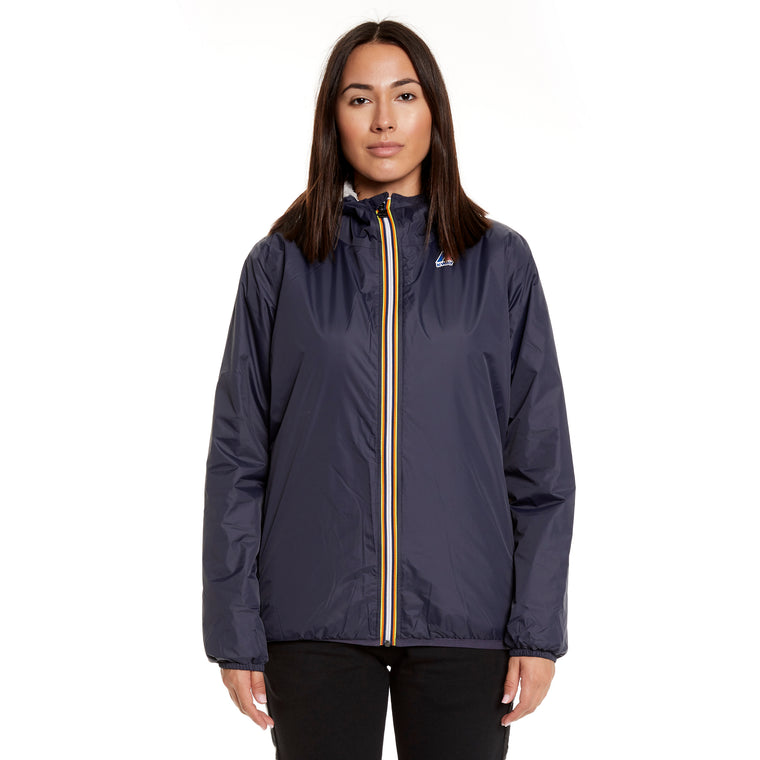 Women's Le Vrai 3.0 Claude Orsetto Full Zip Padded Jacket Blue Depth