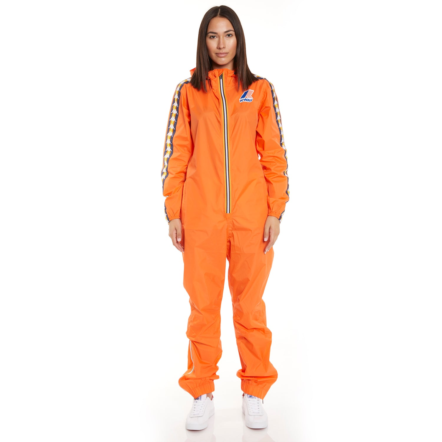 Women's K-Way X Kappa Le Vrai 3.0 Pierrik Banda Orange Flame