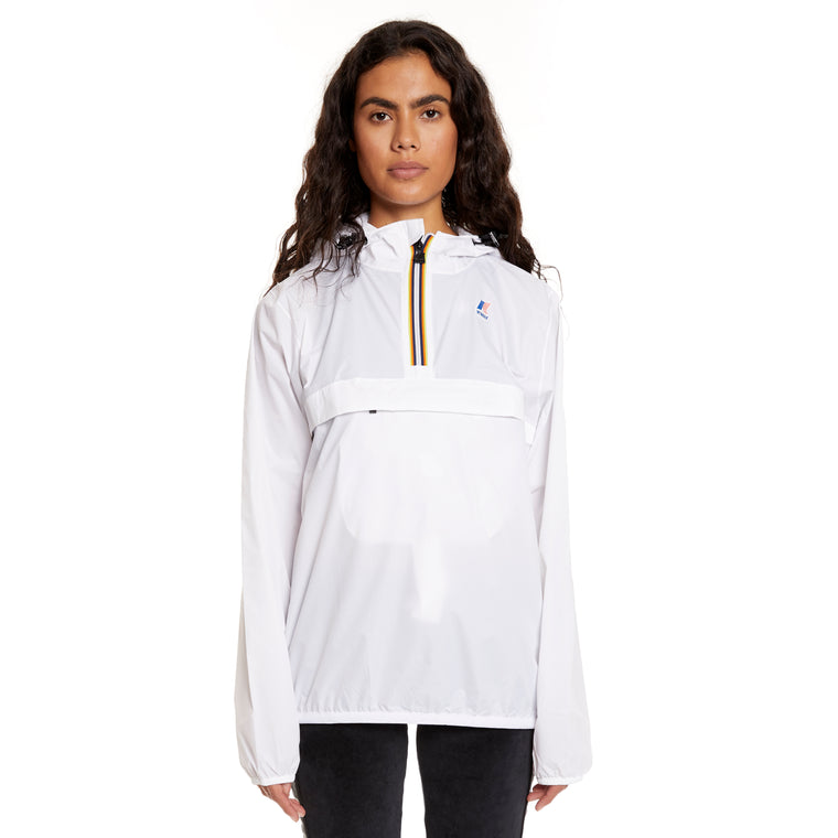 Women's Le Vrai 3.0 Leon Half Zip Jacket White