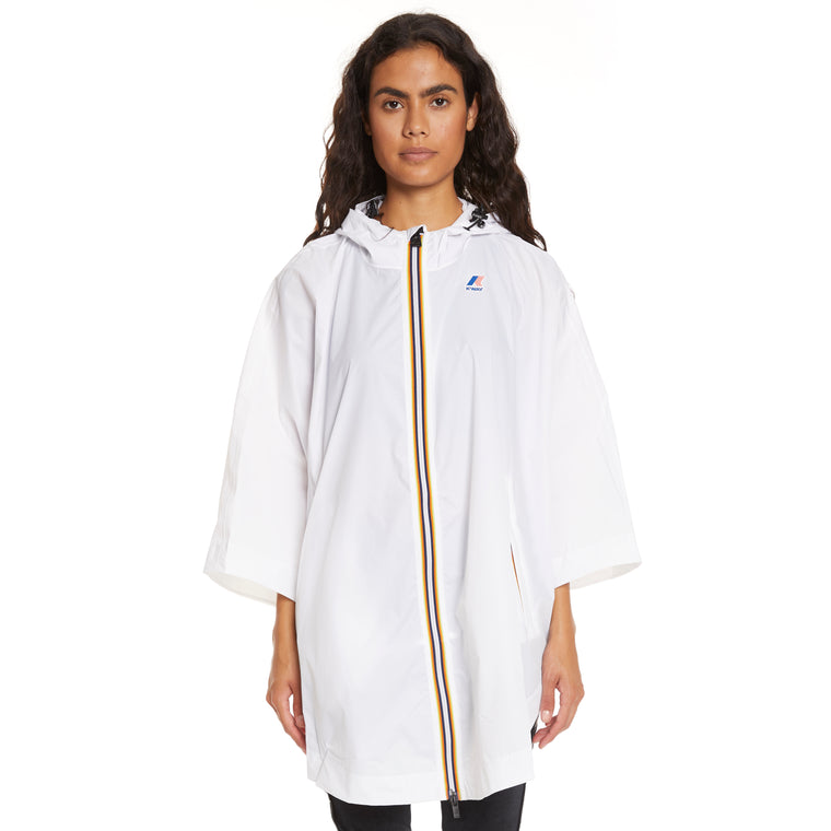Women's Le Vrai 3.0 Morgan Full Zip Poncho White